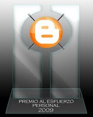 Premio Esfuerzo Personal 2009