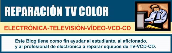 Reparacion TV Color