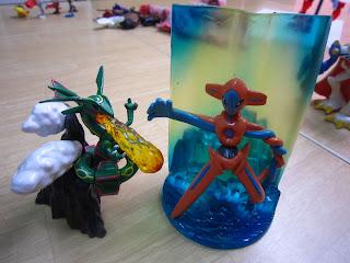 Totally toys pokemon the movie destiny deoxys figures - Lego pokemon rayquaza ...