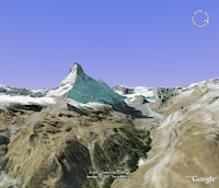Matternhorn w Google Earth