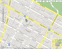 Google Maps, New York, shaded buildings