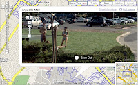 Google Maps - street view: sunbathing
