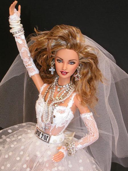Magia 2000 Ooak Fashiondolls Madonna Doll As Like A Virgin