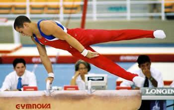 La gimnasia aparatos utilizados en la gimnasia for Gimnasia con aparatos