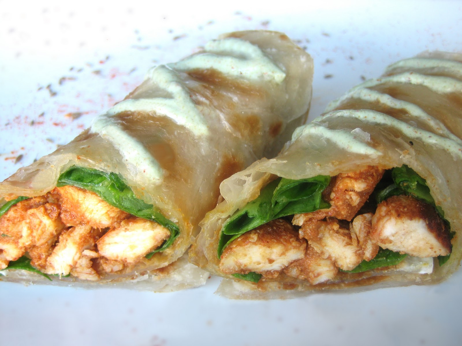Lawyer Loves Lunch: WDWW: Chicken Tikka Wraps
