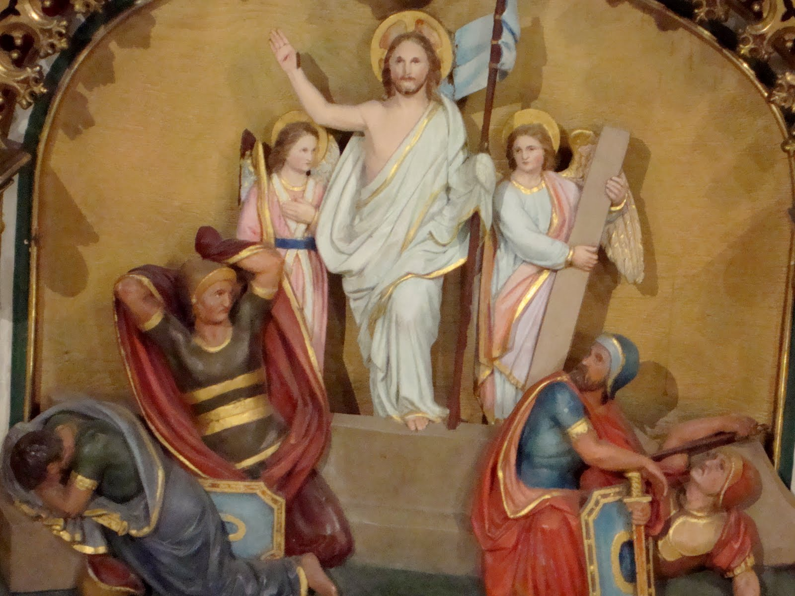 The Resurrection from the Main Altar, Notre Dame Cathedral, Ottawa dans immagini sacre