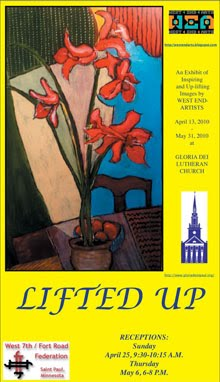 EXHIBIT APRIL - MAY AT GLORIA DEI LUTHERAN