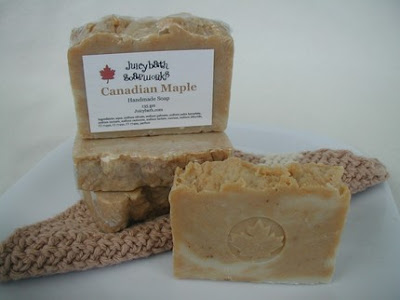 Maple Leaf Handcrafted Soap, Handcrafted Soap