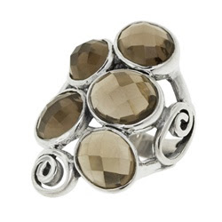 Sculpted Silver Rings, handcrafted jewelry, David Tishbi