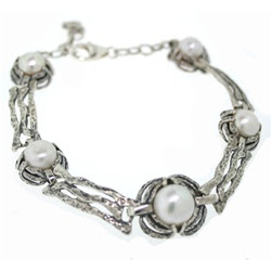 Handcrafted silver jewelry, Pearl jewelry, David Tishbi Jewelry Collections