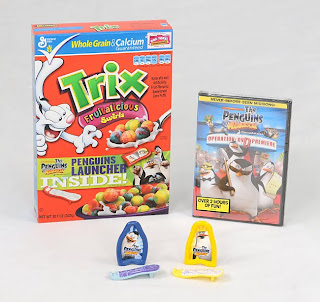 Trix, Fun Breakfast, Penguins of Madagascar DVD