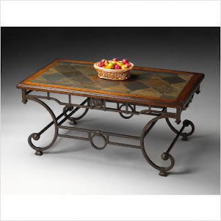 rustic coffee table, furniture, home decor, CSN