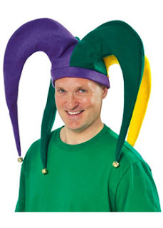 Large Jester Costume Hat,