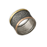 handcrafted spinner rings