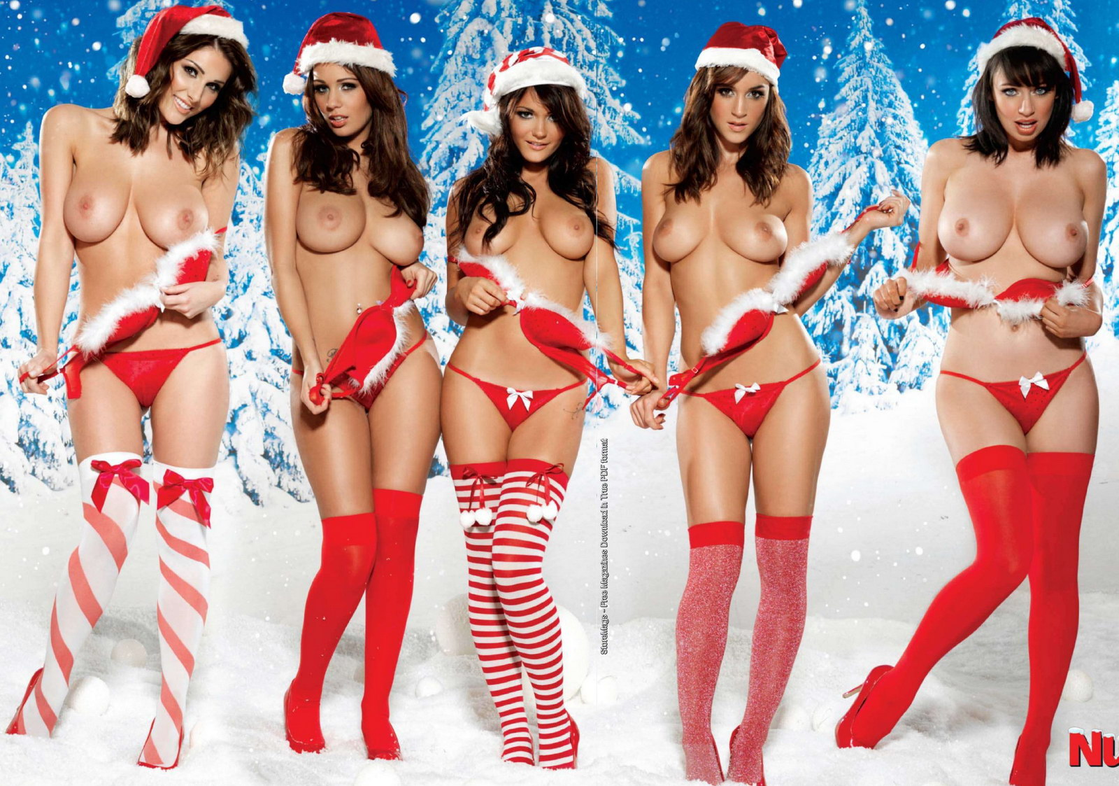 Rosie Jones Holly Peers India Reynolds Sophie Howard Lucy Pinder Big Boobs Naked Tits Merry Sexy Christmas 2 Don't shoot the Opera Tower! Photo: Ziv Mizrahi; Design: Ido Kenan.