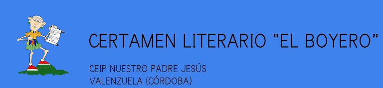 CERTAMEN LITERARIO EL BOYERO