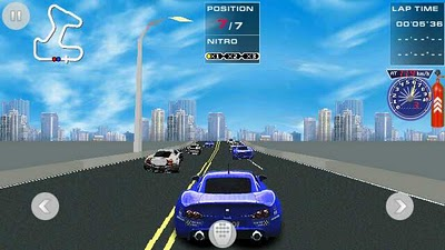 race drift is a nice java racing game for java based touch screen