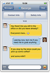 Yahoo Messenger iPhone