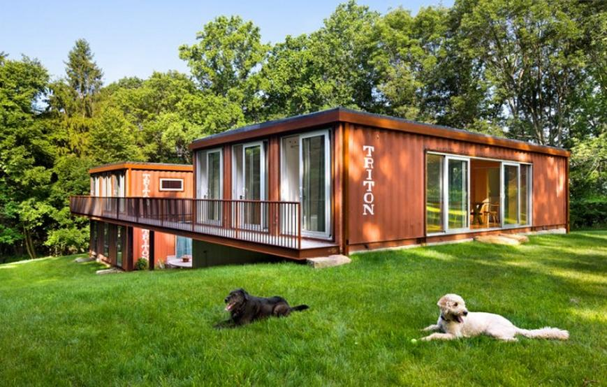 Review beautiful shipping container home in nj - Beautiful shipping container homes ...