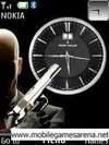 Hitman Clock 128X160 S40 Theme (128X160 S40 Themes)