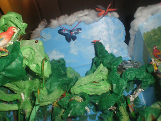 Example of Rain Forest Diorama http://romans12-2mama.blogspot.com/2008/04/rainforest-diorama-project.html