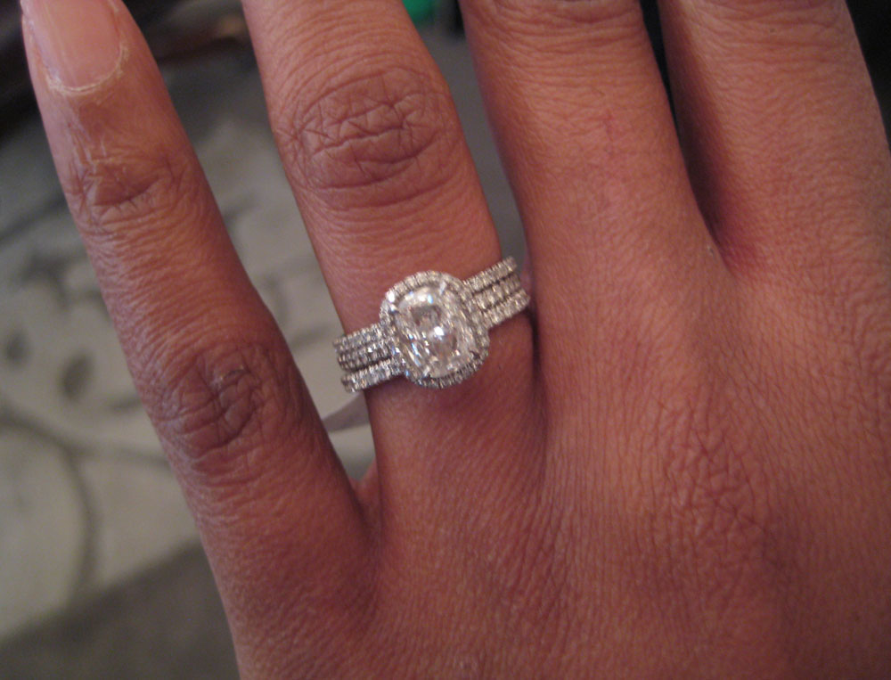Wedding Ring With Two Bands