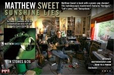Matthew Sweet - Sunshine Lies e-card
