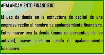 indicador financiero contable: