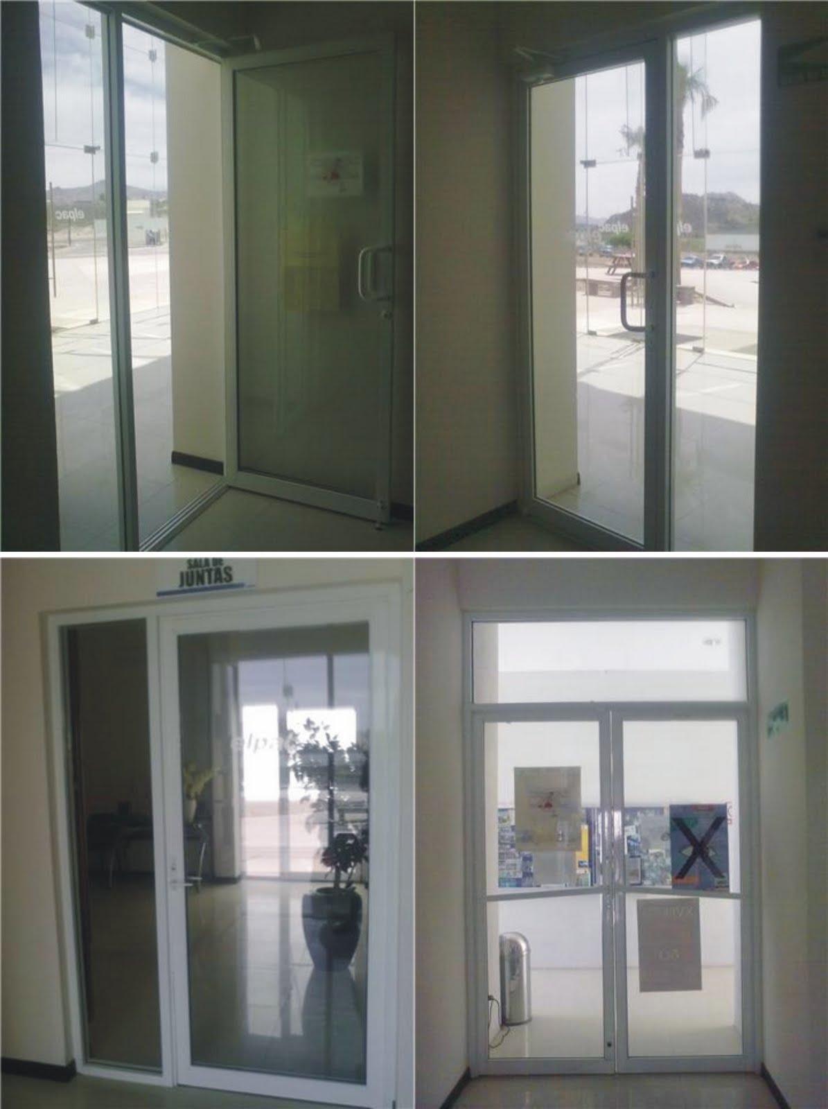 Puertas De Baño Batientes:VENTANAS Y PUERTAS TÉRMICAS: puertas comerciales batientes