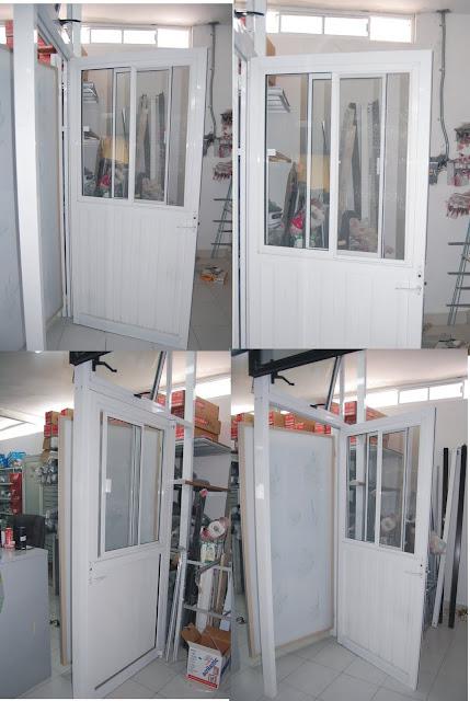 Ventanas y puertas t rmicas puerta interior para lavanderia for Bano con lavanderia