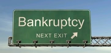 claiming bankruptcy