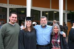 Irene's WWU graduation