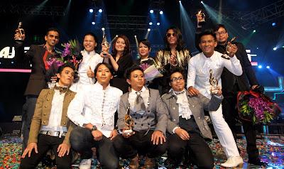 Senarai Pemenang Anugerah Juara Lagu Ke-25