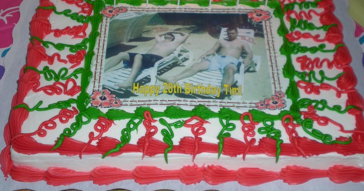 Tim N Leah Happy 28th Birthday Tim