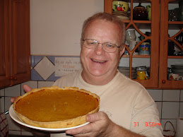 New Year's Pumpkin Pie!