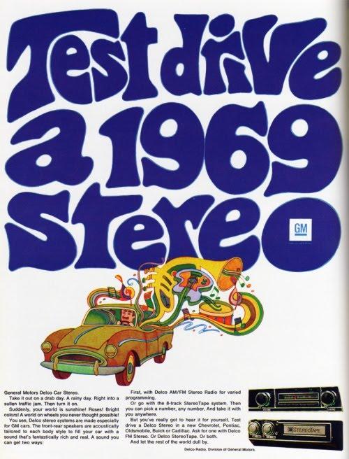 Eski reklamlar: GM 1969 stereo