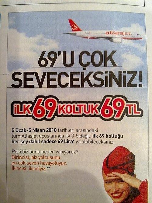 AtlasJet Reklamı: 69'u çok seveceksiniz