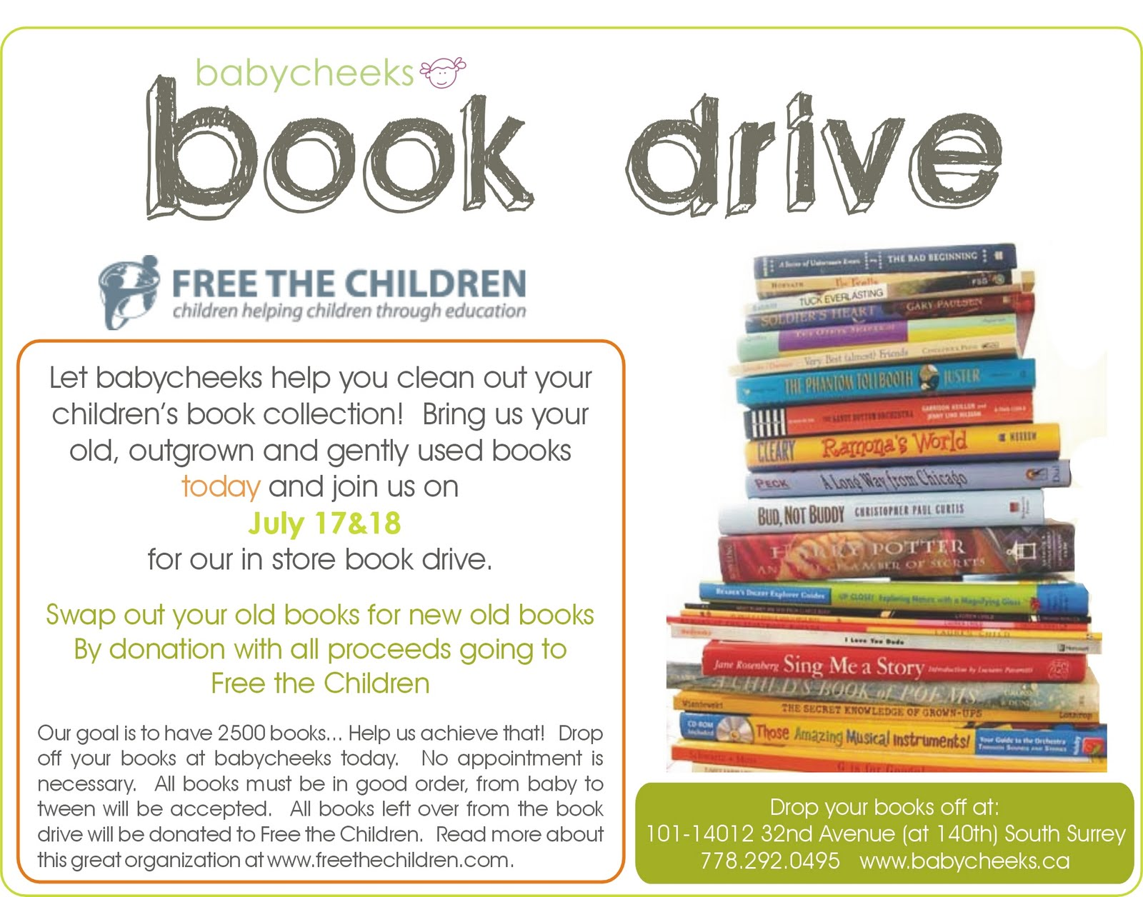 book drive template flyer recet productoseb co