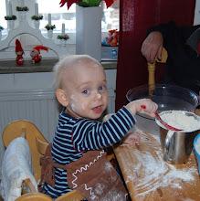 Lussebak julen 2010