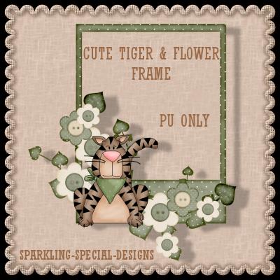http://sparkling-special-designs.blogspot.com/2009/06/tiger-flower-frame.html