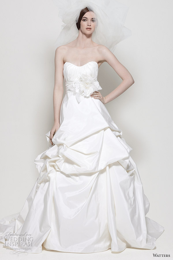 Watters Wedding Gowns Spring 2011
