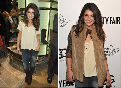 "Shenae Grimes. ""UGG Australia"" Store Opening At The Grove In Los Angeles"