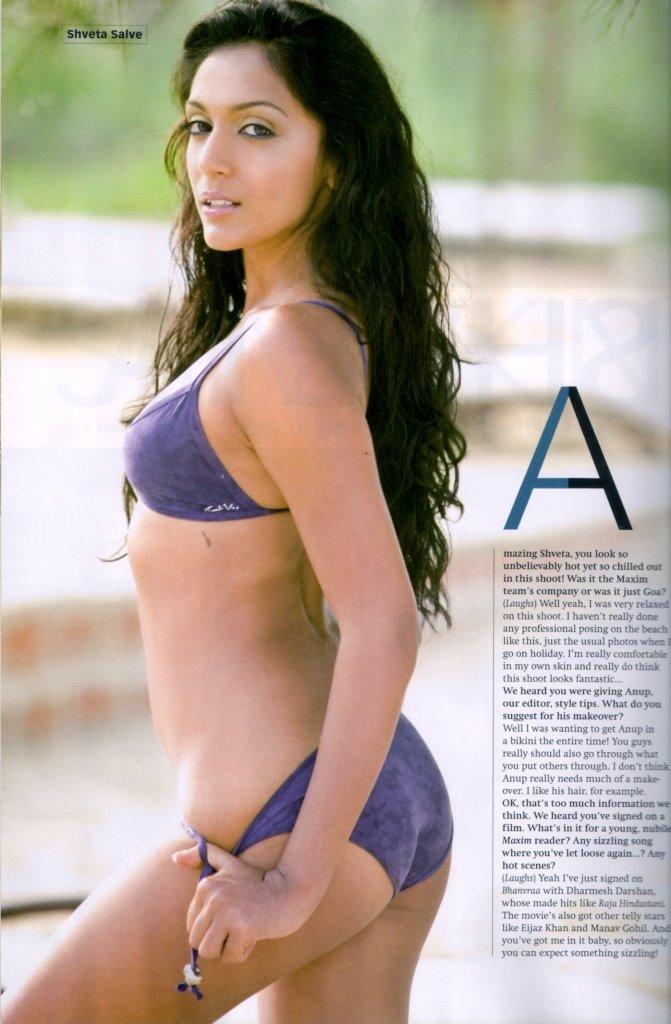 Shweta Salve poses in sexy bikini