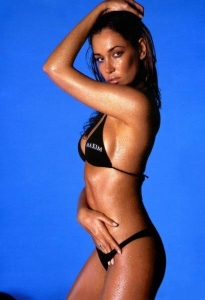 Former Miss Brazil Jana Ina
