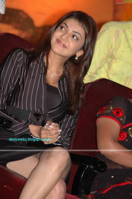Kajal Agarwal showing her panty
