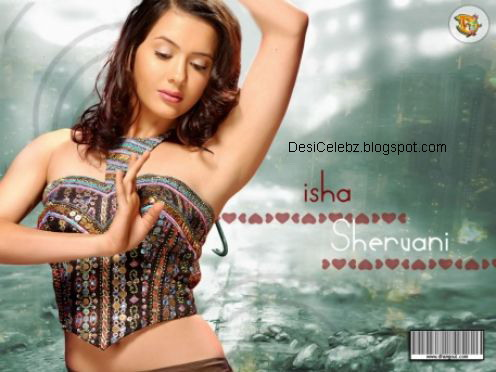 Isha Sharvani hot pics