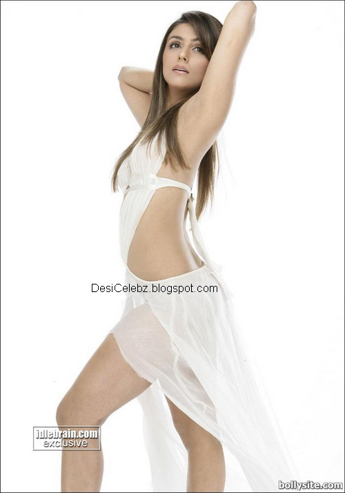 Aarti Chhabari spicy hot poses in transparent white
