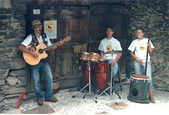La Fèdér's sbinda band a Pezzo