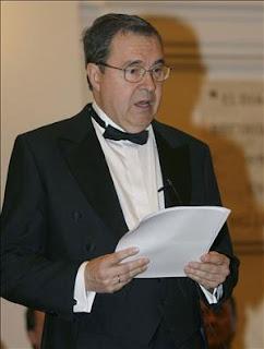 D. Antonio Almagro en su discurso [Foto: Agencia EFE]