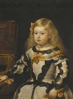 Retrato de la infanta Margarita [www.louvreatlanta.org]